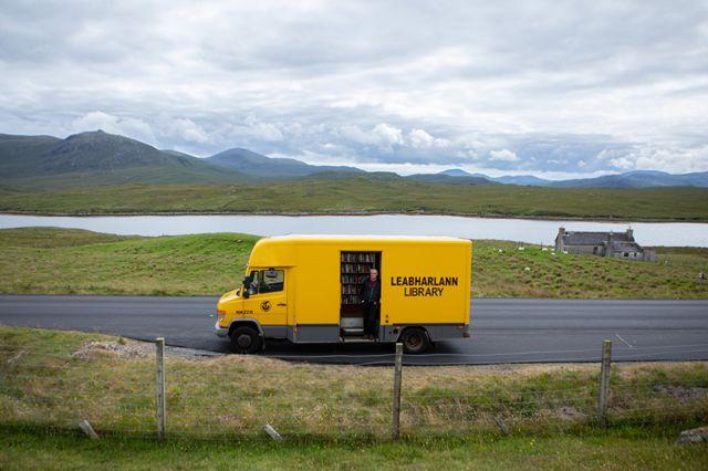 Mobile van library
