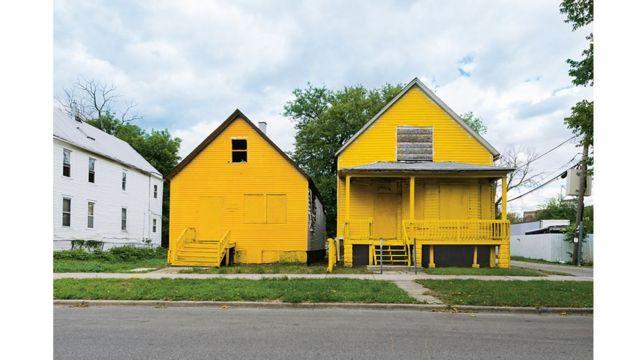 Casas do projeto The Color(ed) Theory
