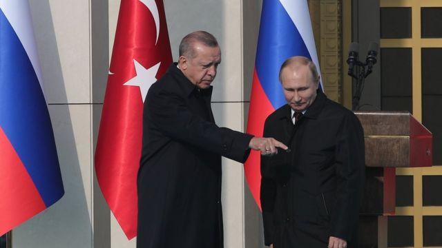 Putin, Erdoğan