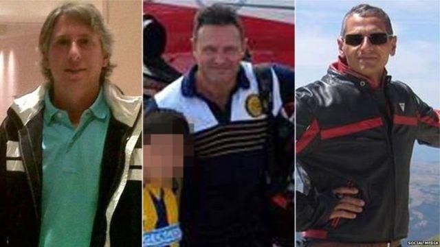 મૃતક પાંચ મિત્રોમાંથી ત્રણ મિત્રોની તસવીર