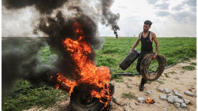 """فصائل فلسطينية تستنكر """"تنكيل"""" الجيش الإسرائيلي بجثمان شاب في غزة"""