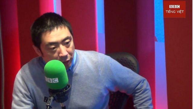Nhà báo Howard Zhang, chủ biên BBC Tiếng Trung
