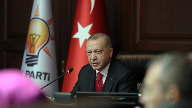 Merkez Yönetim Kurulu'nda Erdoğan