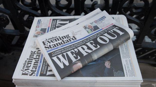 Diarios en Londres