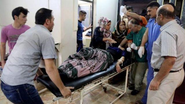 دولت اسلامیہ کرد حملہ