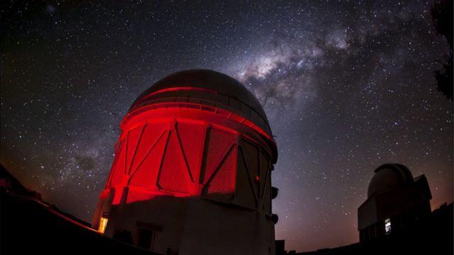 Telescopio Víctor M. Blanco, en Chile