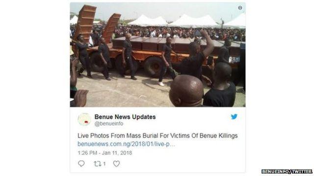Benue mass burials