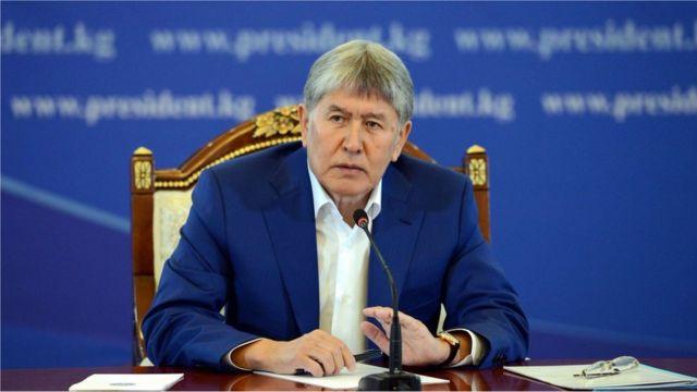 Президент Алмазбек Атамбаев ГЭСтерди курууга бел байлаган жаңы инвесторго ишенээрин айтты