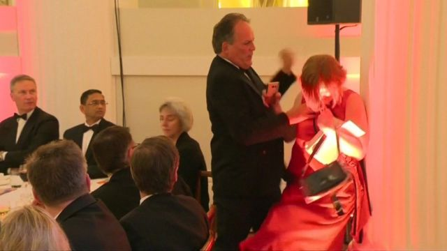 MP Mark Field accused of assaulting Greenpeace activist