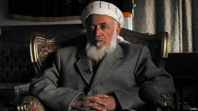 अफ़ग़ानी नेता बुरहानुद्दीन रब्बानी