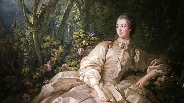 Pintura de Madame de Pompadour
