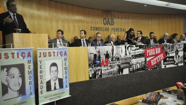 Ato público de 2014 da OAB pelos 50 anos do golpe militar