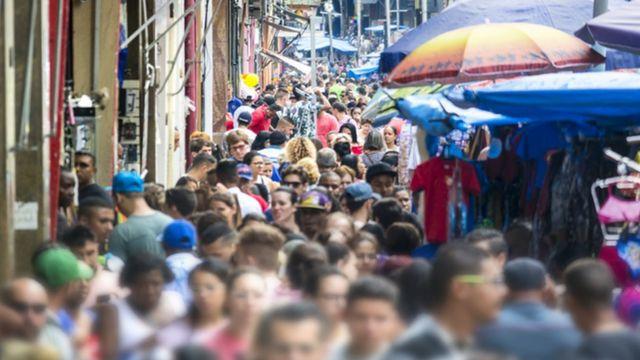 População em rua no centro de SP