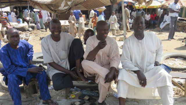 Kasuwar kifi ta Tashar Baga a Maiduguri