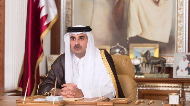 Katar Emiri Şeyh Temim bin Hamad es-Sani
