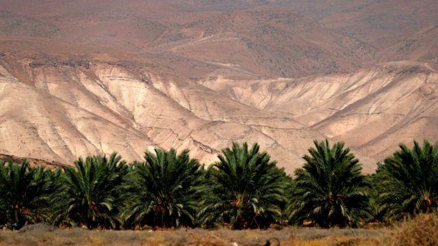 Valle del Jordán.