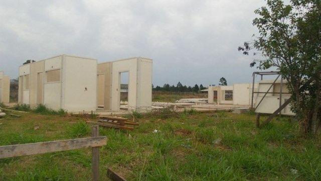 Creche com obras paralisadas em Gravataí (RS) em 2018, segundo a CGU