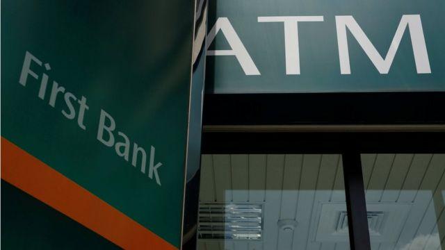First Bank bankomatı