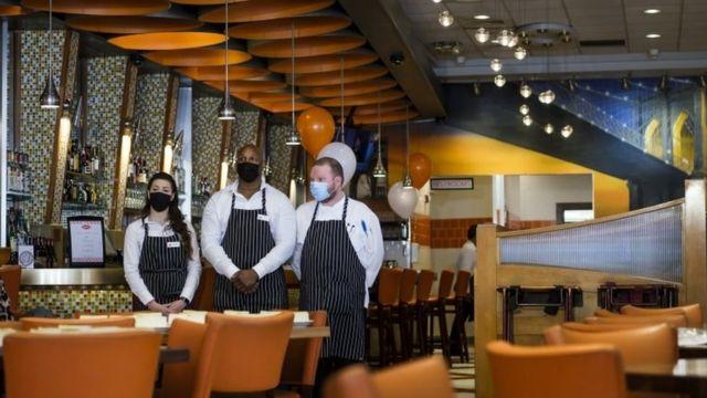 Restaurante em Nova York