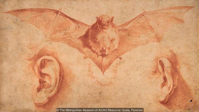 A Bat and Two Ears karya Ribera (awal 1620an) mengandung simbolisme yang tak bisa dipecahkan.