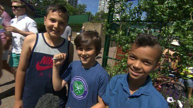 Kids at Wimbledon tell us their predictions