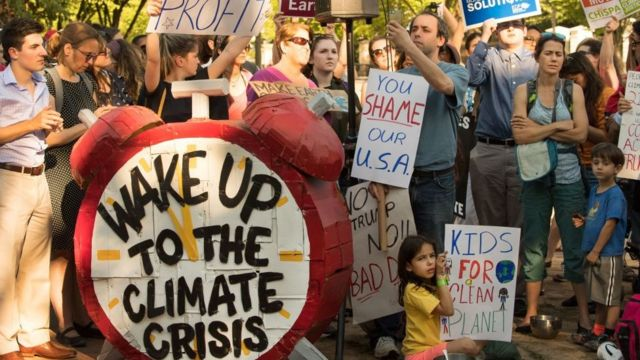 Çevrecilerin protestosu
