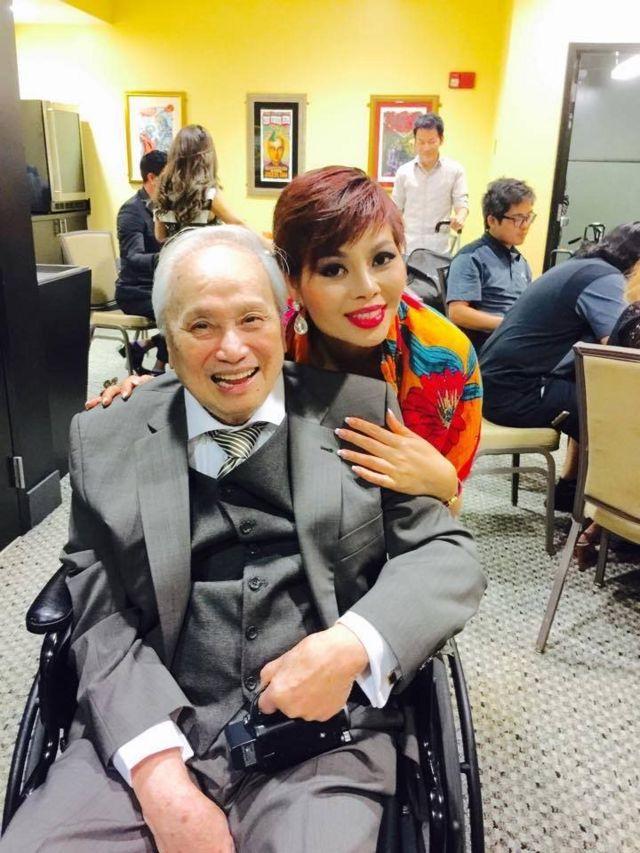 Nhạc sĩ Lam Phương hồi năm 2015