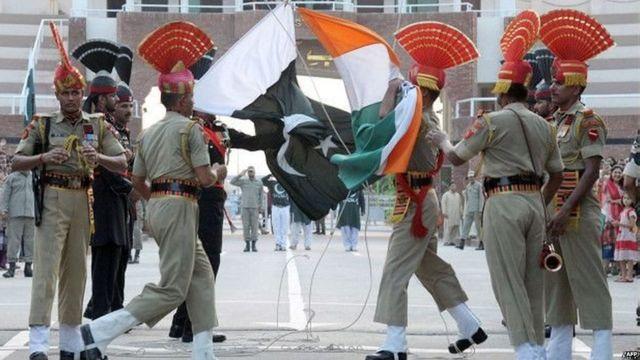 वाघा बॉर्डर, भारत, पाकिस्तान, पाकिस्तानी, सिंधी
