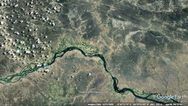 Imagens de satélite de Cabrobó