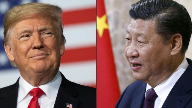 习近平和特朗普,2020年5月14日