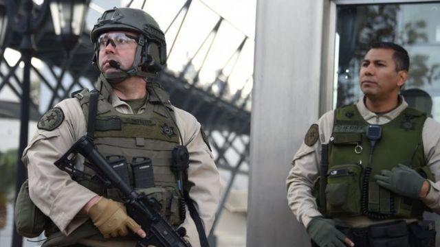 अमरीकी सुरक्षा कर्मी
