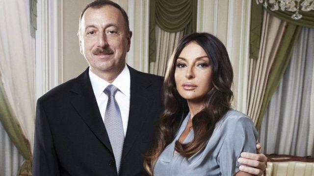 Ильхам Алиев Мехрибан Алиева