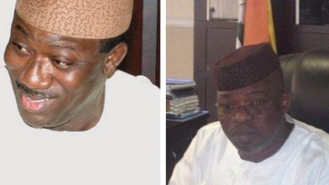 Kayode Fayemi àti Segun Oni