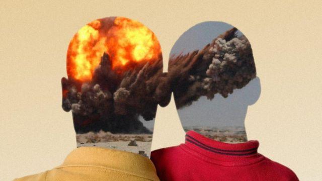 отец и сын, травма, война
