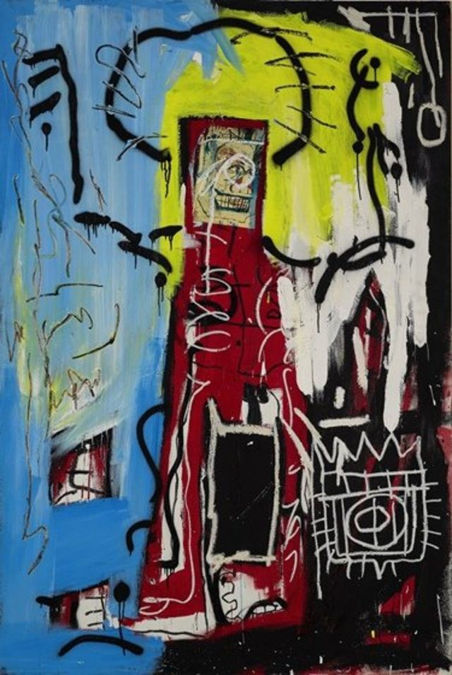 Картина Мишеля Баския