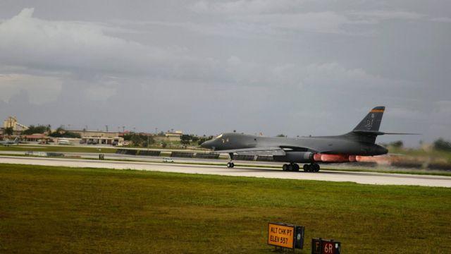 关岛的安德森空军基地