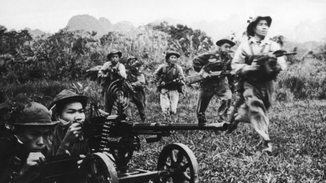 Soldados vietnamitas