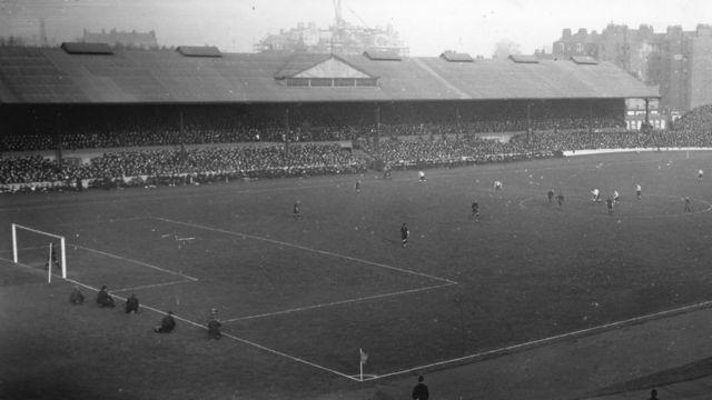 Utakmica Čelsija na Stamford Bridžu 1919. godine