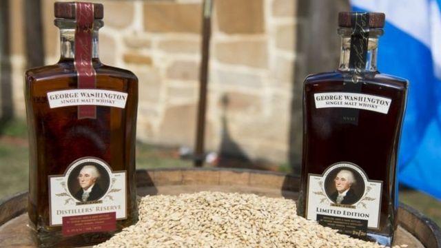 华盛顿家的威士忌酒作坊现在还在运作