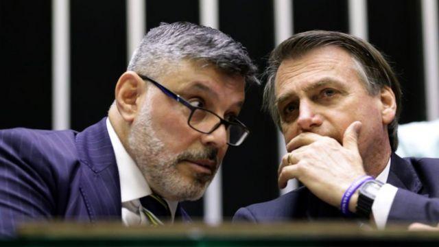 Frota e Bolsonaro na Câmara