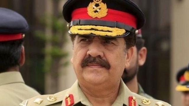पाकिस्तान सेना प्रमुख राहील शरीफ़