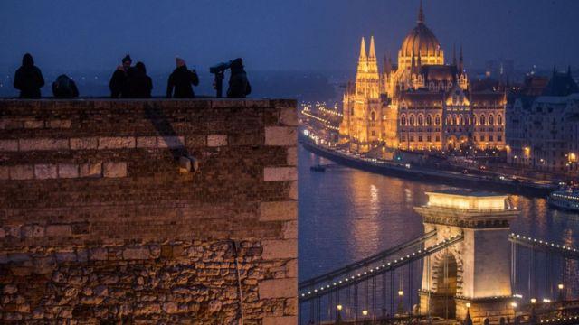 Panorámica de Budapest.