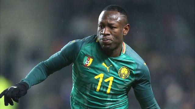 L'attaquant camerounais Christian Bassogog