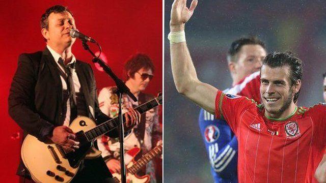 Manic Street Preachers and Gareth Bale