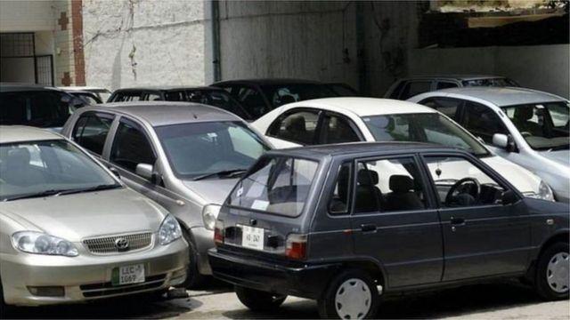 پاکستان، گاڑیاں، معیشت