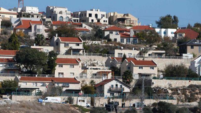 بؤر استيطانية على اراض فلسطينية