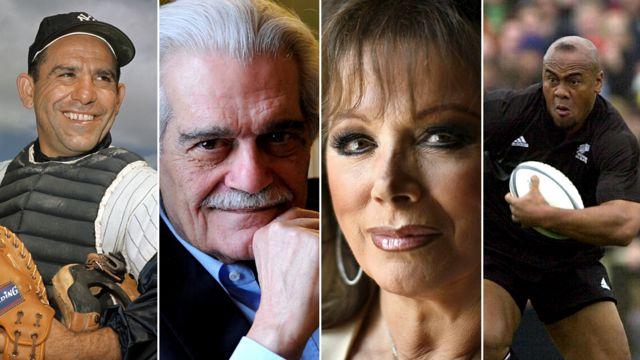 Yogi Berra/Omar Sharif/Jackie Collins/Jonah Lomu
