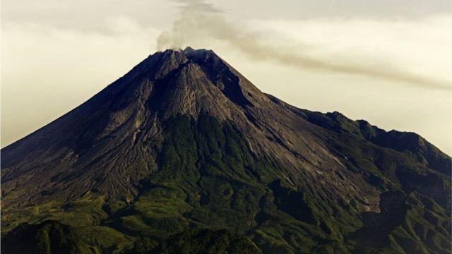 В 2010 году в Индонезии произошло сильное извержение вулкана Мерапи