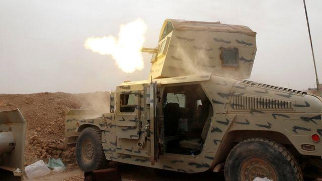 قوات عراقية في محيط الموصل