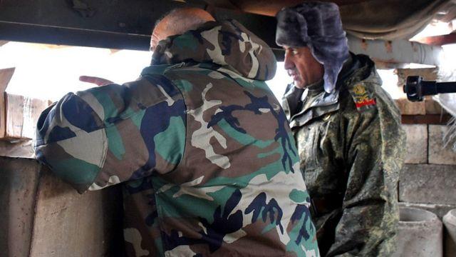 قادة في الجيش السوري